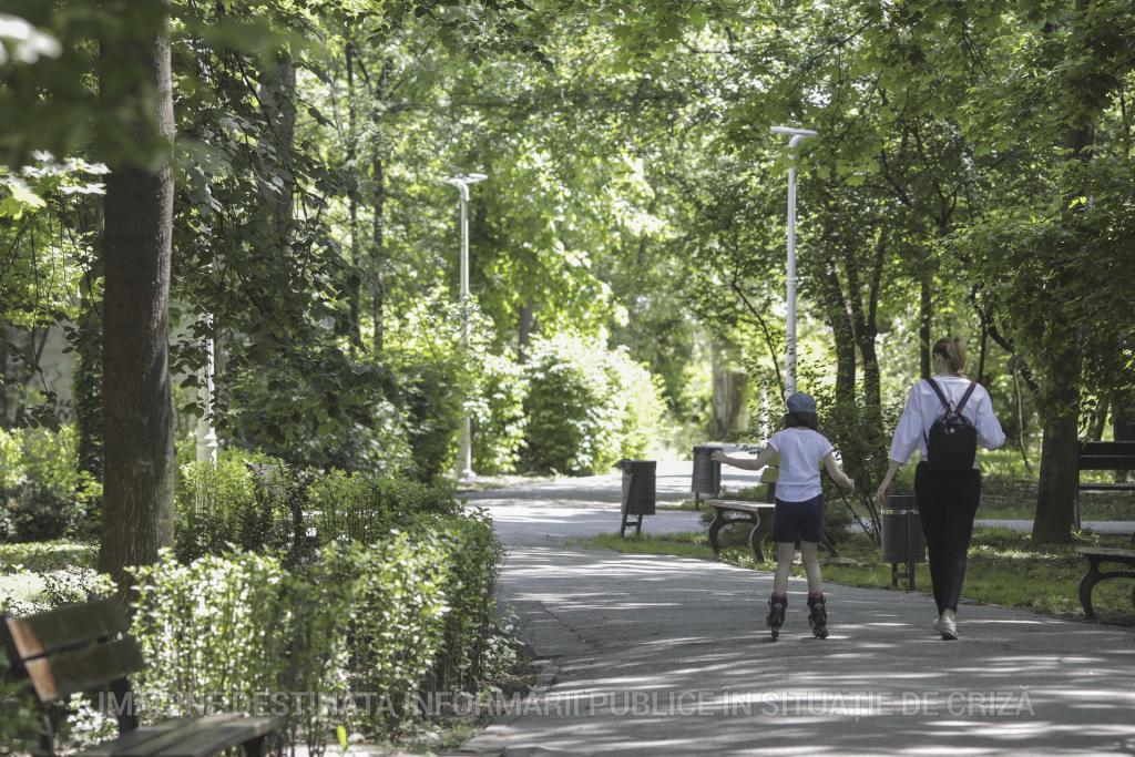 Parcurile din Sectorul 2 au rămas deschise